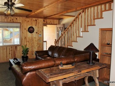 Photo for Brownie Retreat A: Walk to Snow Summit, Lake, Village from this Beautiful Cabin