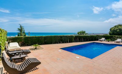 Photo for Club Villamar - Charming villa with private pool, located in a quiet area and with precious panor...