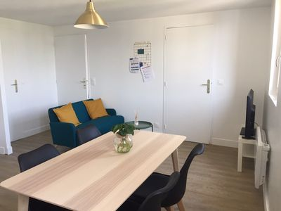 Photo for Cozy apartment two minutes from the beach