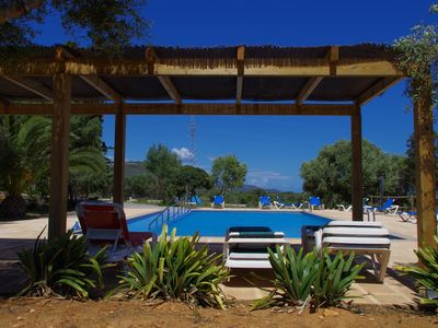 Photo for Finca with private pool, garden and animals for up to 22 people