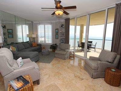 Photo for Beach Colony East Penthouse 16B-Beach Front unit with amazing views!