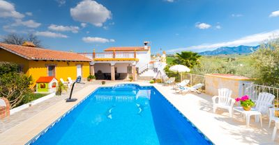 Photo for Cubo's Casa María los Javieles. Ideal for families with pool and wifi