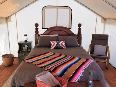 Photo for Glamping Tent with Mountain Views : Basecamp 550 #2