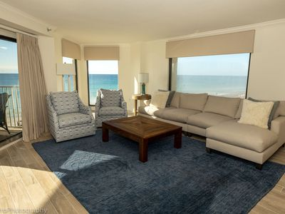 Photo for Inlet Reef 301 is an absolutely stunning 3 BR - completely remodeled Gulf Front Corner Unit