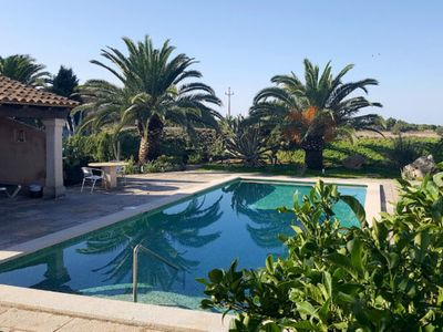 Photo for Large Country House with Pool, Garden, Terraces and Wi-Fi; Parking Available, Pets Allowed