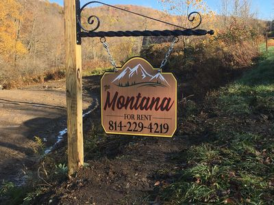 Photo for The Montana.  Remote,  private setting .  No hidden fees!