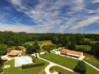Photo for Holiday village **** family, pool, spa, tennis, games, bar, activities
