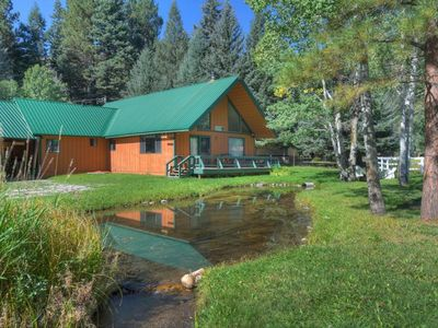 Photo for Quiet Retreat with Pond in Lake Resort Community