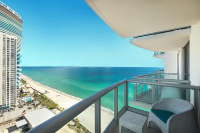Your very own private balcony with the breathtaking ocean views!