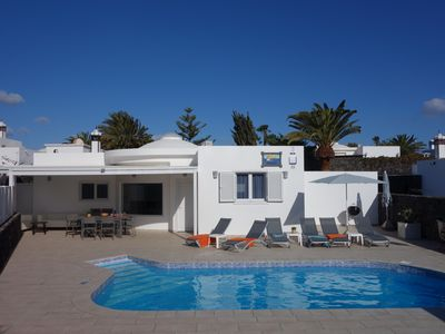 Photo for Newly Renovated identical Luxury 4 bed Villas with heated pools - great location