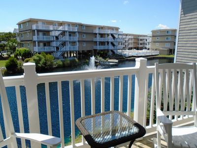 Photo for SOS 2662A, Beautifully decorated 1st floor condo close to beach and Jinx Creek.
