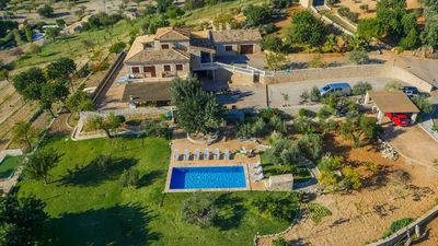 Photo for 7 bedroom Villa, sleeps 12 in Inca with Pool and WiFi