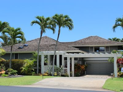 Photo for Poipu 3 Bd/4BA~ Pool~on Golf Course~Mt/Ocean View~Beach