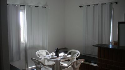 Photo for Furnished apartment in Castelhanos Beach, 80m from the beach