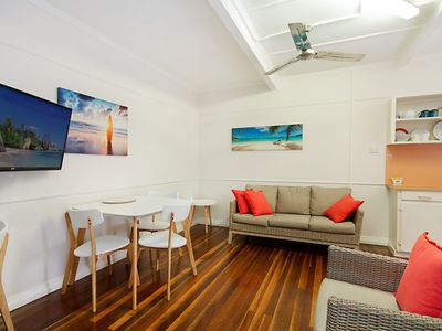 Photo for Tondio Terrace Flat 3 - Pet Friendly, neat and tidy flat, easy walk to the beach
