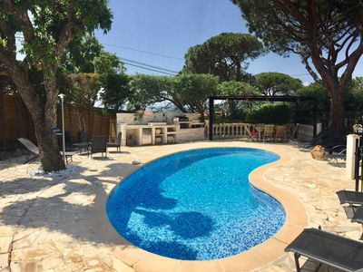 Photo for villa 125 m2 swimming pool Ste Maxime for rent in july 1995 € / week 1. 4 km beach