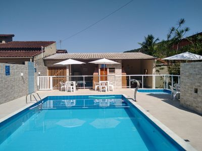Photo for 2 bedroom apartment, furnished with pool, near Martim de Sá.