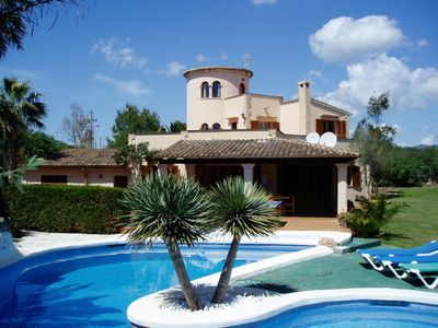Photo for BEATIFUL HOLIDAY VILLA WITH LARGE GARDEN AND POOL. INTERNET FREE