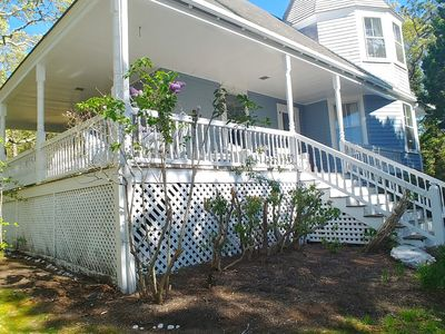 Photo for *Fabulous Makonikey  WATER VIEW Victorian with wrap around porch *WALK TO BEACH!