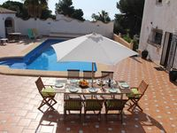 Wonderful house with large pool and terresses. We loves it!!