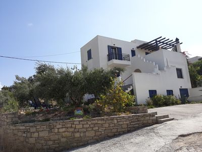 Photo for Apartment in detached Villa in Kamilari.