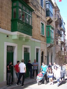 Photo for APARTMENT ON THE GROUND FLOOR OF A HOUSE OF CHARACTER IN THE PORT OF FRONT VALLETTA