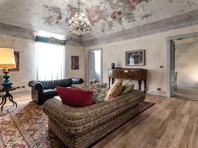 Photo for Large apartment in the historic center for design lovers