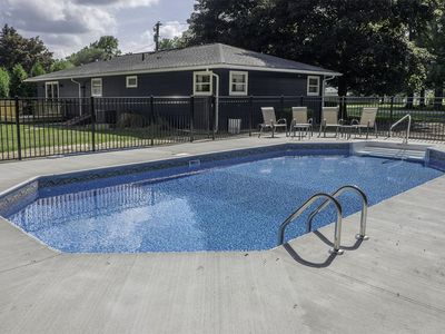 Photo for Harbor Country Retreat with Private Pool.  Perfect family getaway!
