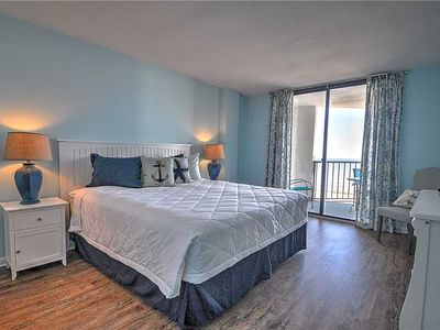 Photo for Recently Remodeled With New Furniture and Flooring. Oceanfront Condo in Crescent Beach!