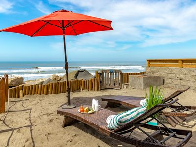 Photo for Lovely beach condo w/ semi-private beach, Designer Decorated & A/C Equipped