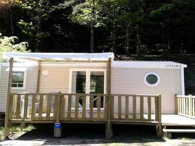 Photo for Flower Camping La Plage *** - Mobile home Comfort Plus 4 Rooms 6/8 People