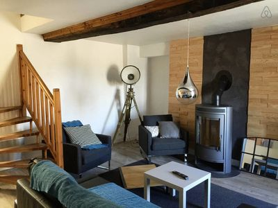 Photo for Beautiful 2 bedroom house located between Bayeux and the se