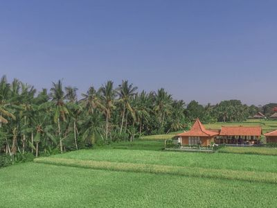 Photo for Luxurious home in UBUD lush rice fields, 2-Bedroom