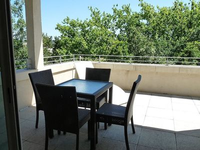 Photo for Apartment 1.4 km from the center of Azille with Internet, Pool, Parking, Terrace (507074)