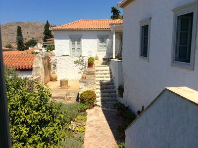 Photo for HYDRA_Beautifully renovated five bedroom villa perfect two families 200m to sea