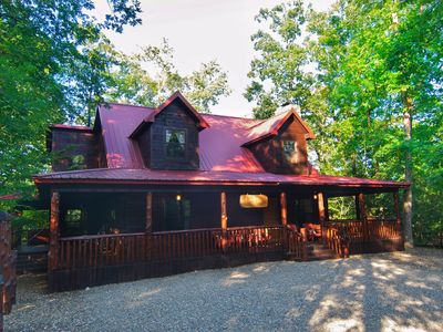 Photo for SPRING SPECIAL!! North Wind Lodge- Luxury Log Cabin, sleeps 7
