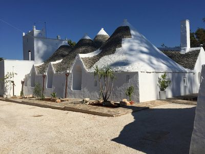 Photo for CHARACTERISTIC BORGO DI TRULLI