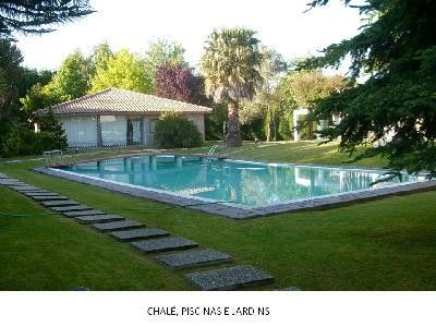 Photo for Charming chalet  with private pool and around to beaches