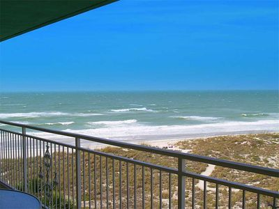 Photo for Beach & Gulf Views from this Updated Unit Across From John's Pass Village & Boardwalk - Free Wifi