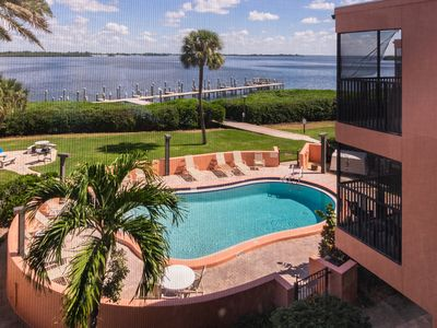 Photo for Coquina Moorings 202 Condo With Pool Boat Dock And Awesome Bay Views