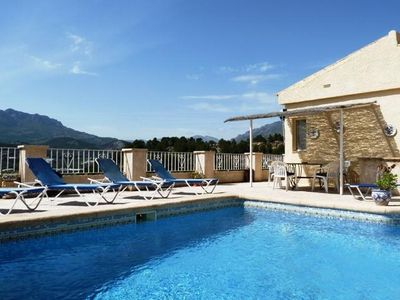 Photo for 3 bedroom Villa, sleeps 6 in Callosa d'En Sarrià with Pool and Air Con