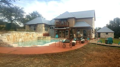 Photo for Dripping Springs-House on the Hill- Endless Views-Family-Friendly-Great Location