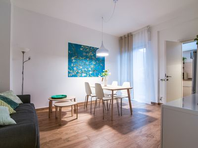 Photo for Modern two-room apartment near the Cimiano metro