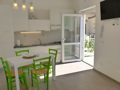 Photo for App. Alice, free WIFI, climate, microwave, dishwasher, smart TV, hairdryer