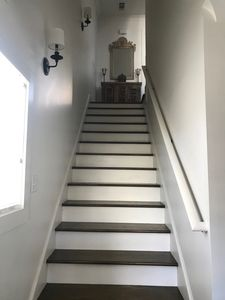 Staircase leading to 2nd floor/ main living area