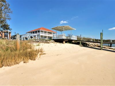 Photo for Bay Breeze Anchor Suite (Private Beach, Pier, and Cabanas)