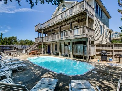 Photo for A Key to Paradise | 790 ft from the beach | Private Pool, Hot Tub | Corolla