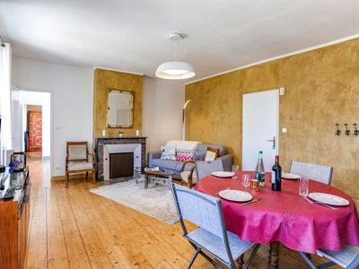 Photo for Cosy apartment for four guests with WIFI, TV and parking