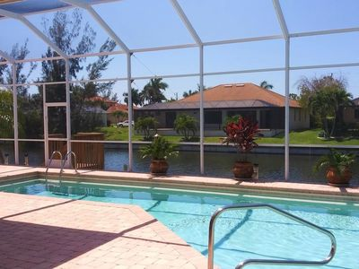 Photo for Cape Coral Holiday Home, Sleeps 10 with Pool, Air Con and WiFi