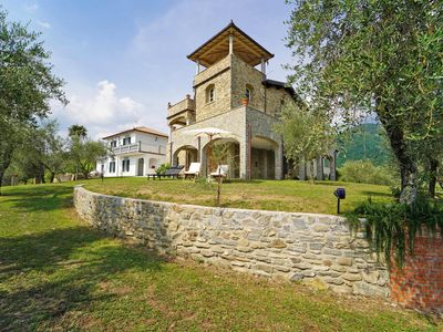 Photo for VILLA ANGELA 8 + 4 Pax with Park, free WiFi, BBQ between Castles and Cinque Terre
